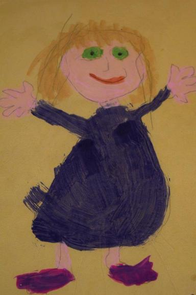 Nanna drawing smaller
