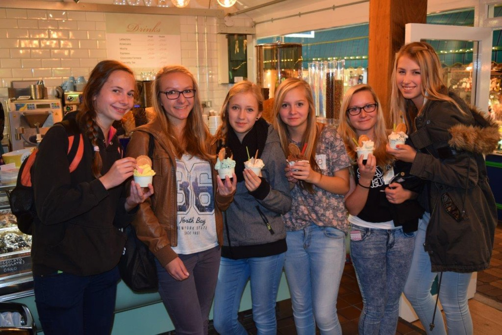 Smiles all round from these lovely young ladies from Germany who visited us on this beautifully warm September day