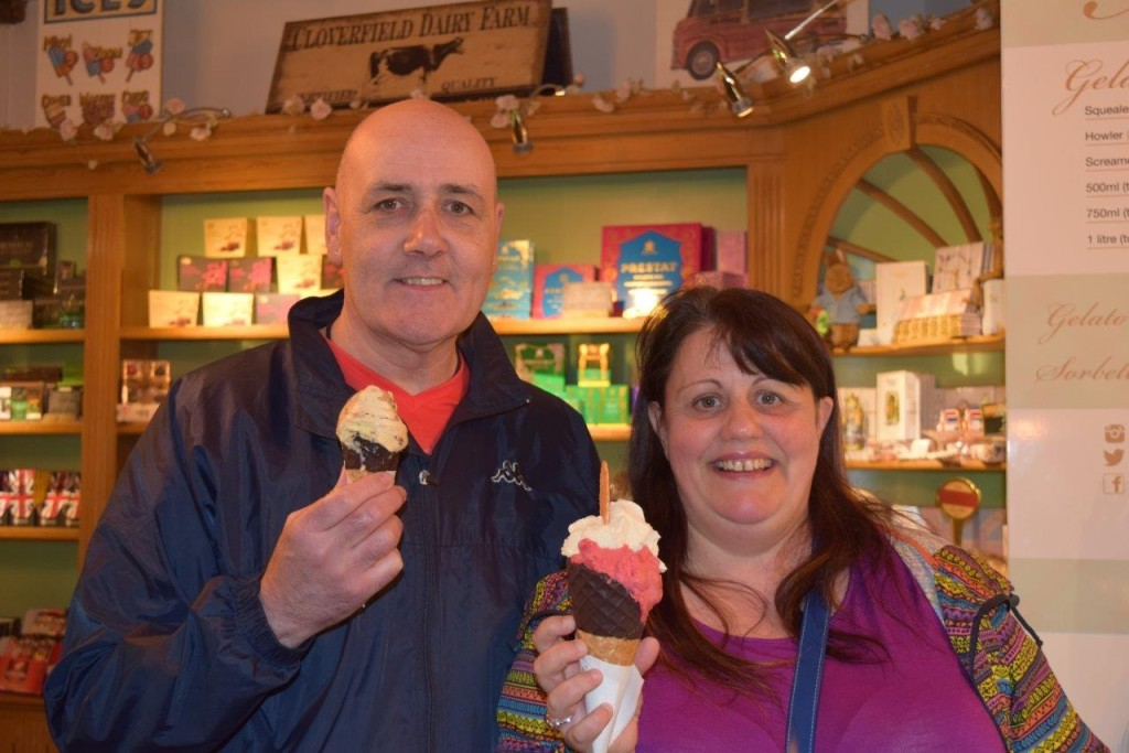 This lovely couple came all the way from South Wales to see us after reading about us on Trip Advisor