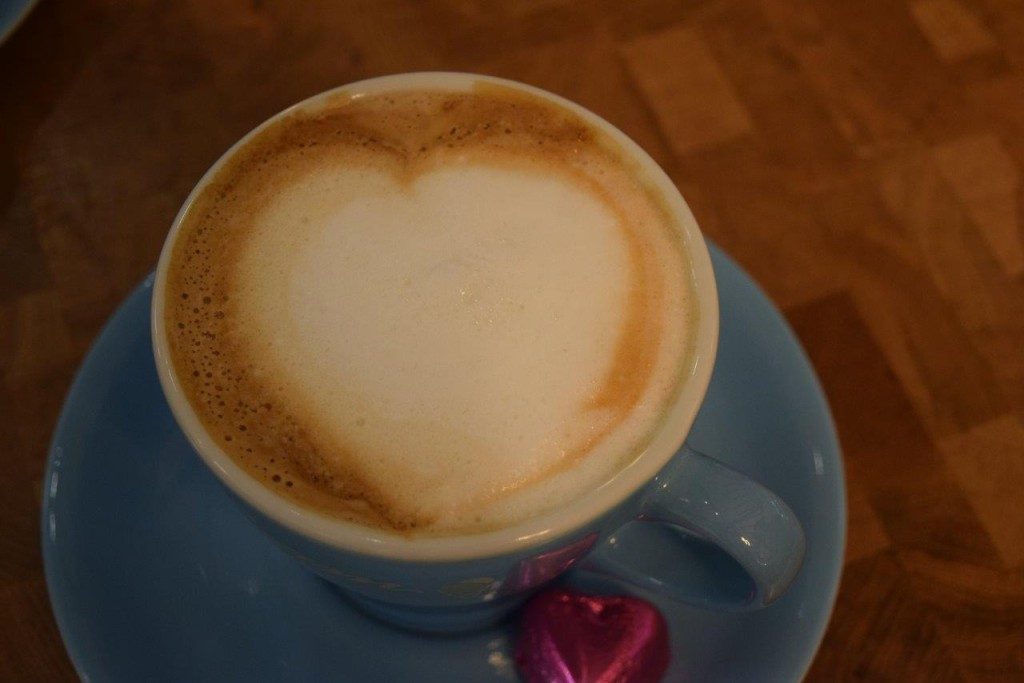 Our coffee's made with love