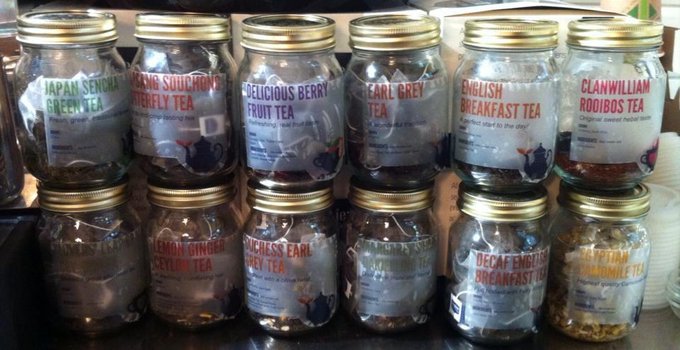 Pop in for a cup of Jenier's finest quality teas
