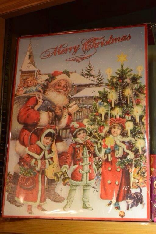 We've got our advent calendar, have you got yours?