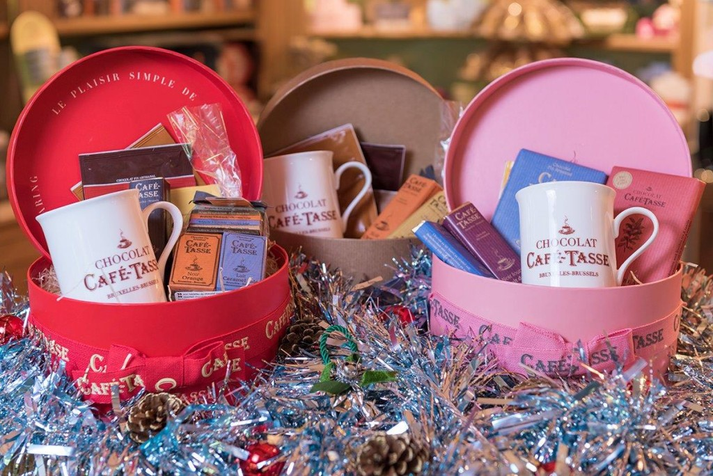Some of the gorgeous Christmas treats from Wicked Chocolate