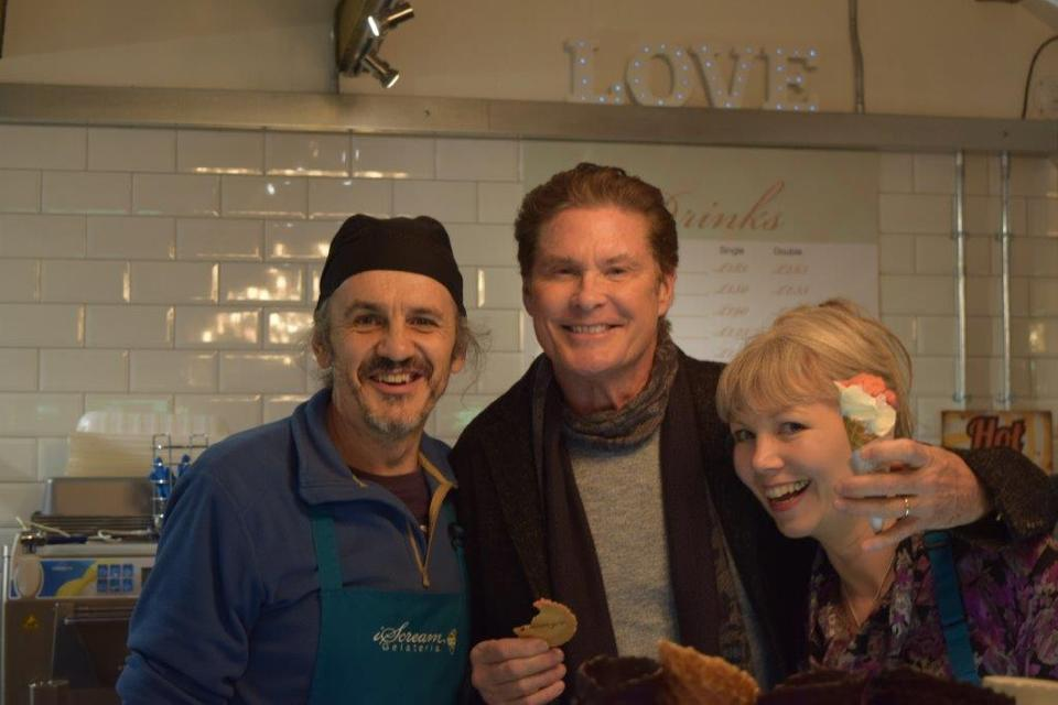 Don't Hassle the Hoff! This really did make our day!