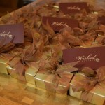wicked choc wedding favours