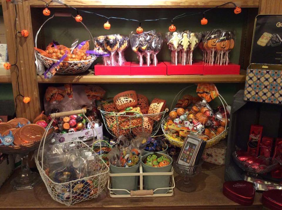 Our Halloween treats - definitely no tricks!