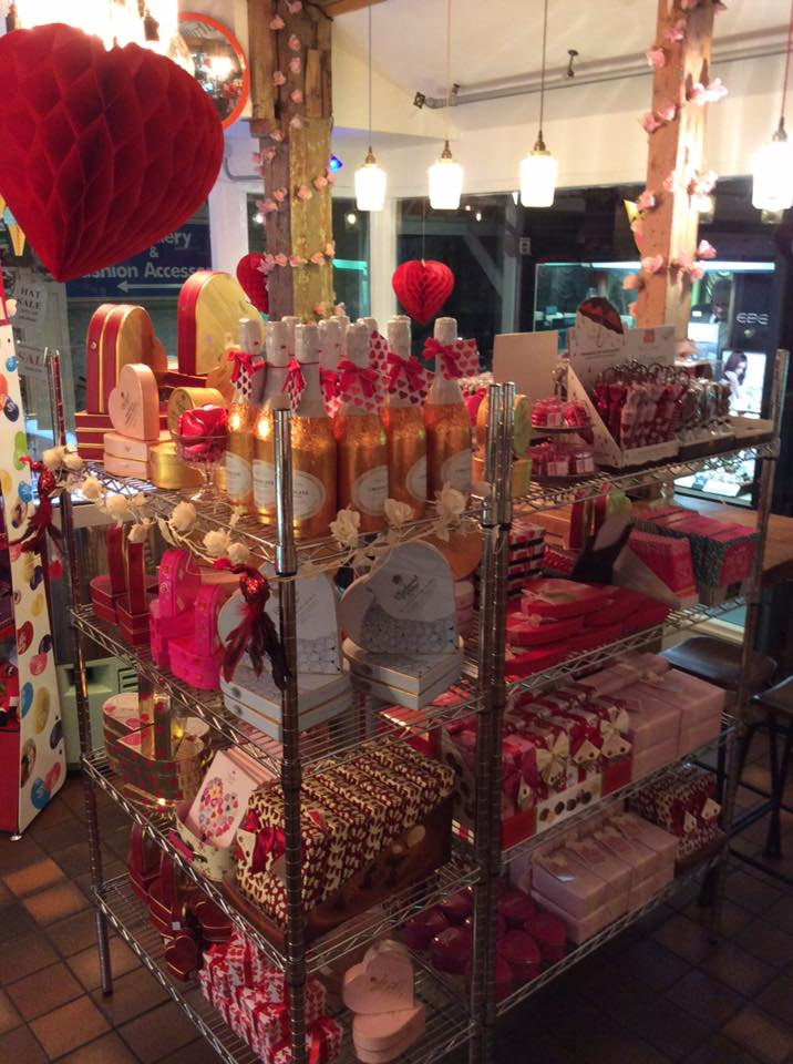 Expect to find a hearty selection of chocolate as well as a hearty welcome at iScream and Wicked Chocolate