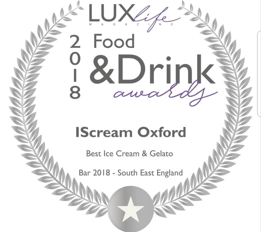 Lux Life Magazine Food & Drink Award